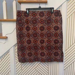 Loft Plus Printed Skirt